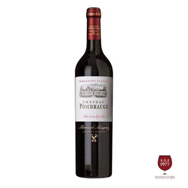 Rượu Vang Chateau Fombrauge – Vang Pháp Cao Cấp Thượng Hạng