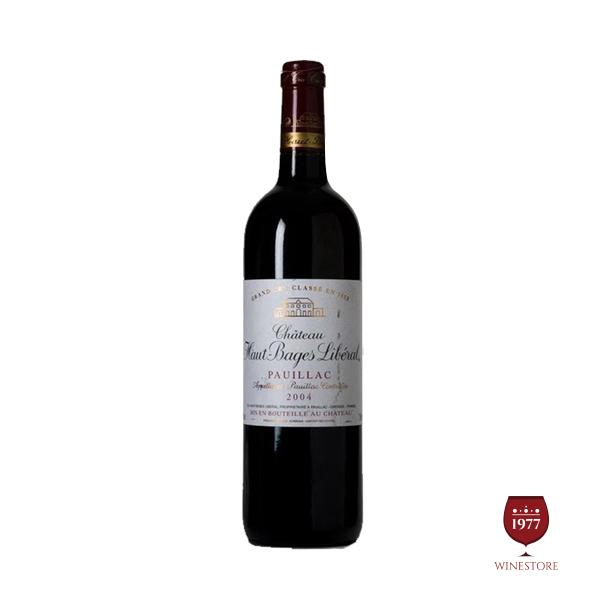 Rượu Vang Chateau Haut – Bages Liberal – Mua Vang Pháp Cao Cấp