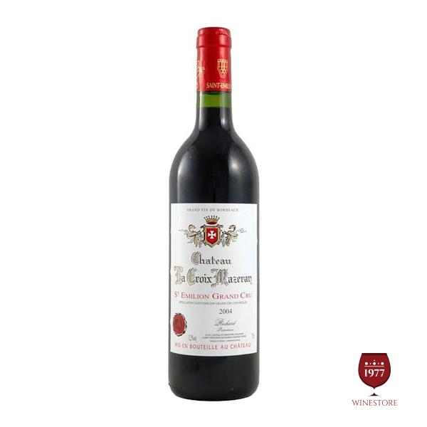 Rượu Vang Chateau La Croix Mazeran – Chai Vang Pháp Hảo Hạng