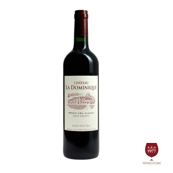 Rượu Vang Chateau La Dominique – Vang Pháp Chính Hãng Cao Cấp