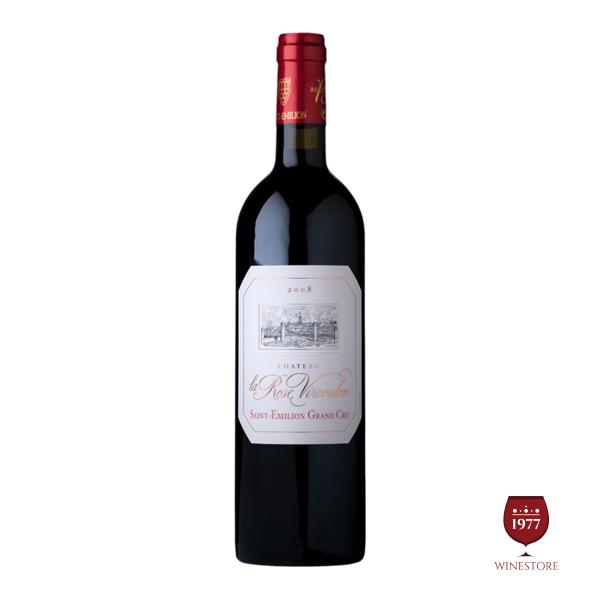 Rượu Vang Chateau La Rosen Vircoulon – Dòng Vang Pháp Cao Cấp