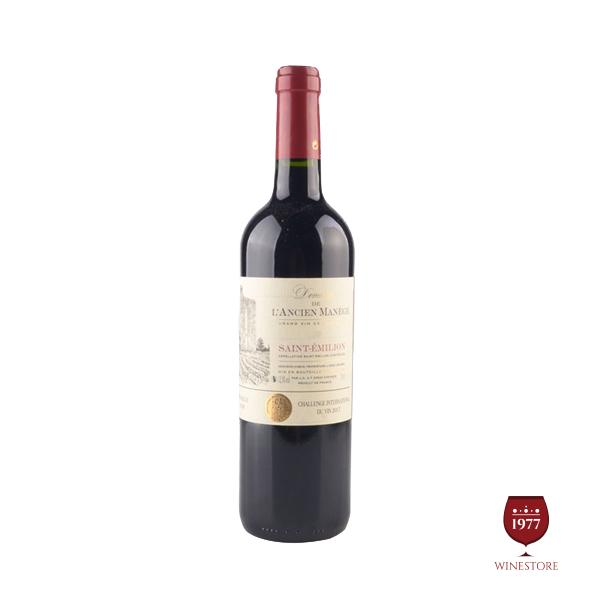 Rượu Vang Domaine De Lancien Manege – Mua Vang Pháp Nhập Khẩu