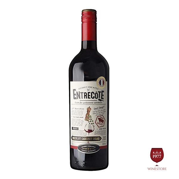 Rượu Vang Entrecote Merlot Cabernet Syrah VDP – Vang Pháp Giá Tốt
