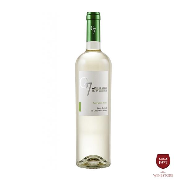 Rượu Vang G7 Classico Sauvignon Blanc – Vang Trắng Chile Nhập Khẩu