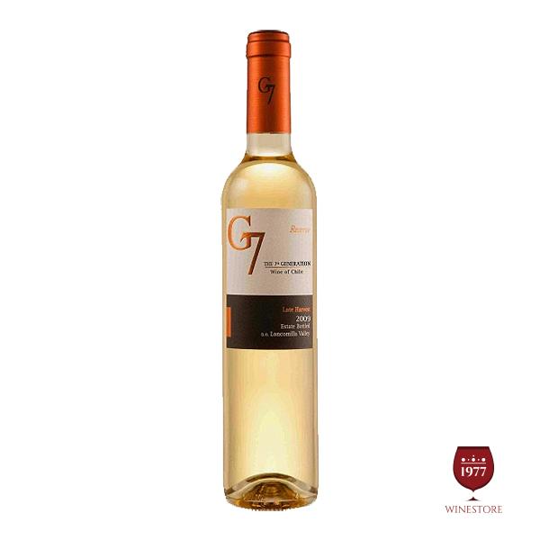 Rượu Vang G7 Late Harvest – Vang Chile Nhập Khẩu Giá Tốt