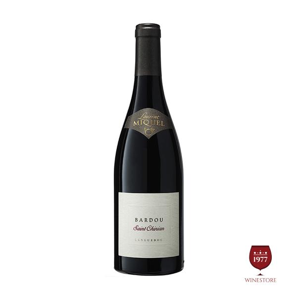 Rượu Vang Laurent Miquel Bardou Saint Chinian – Vang Pháp Cao Cấp