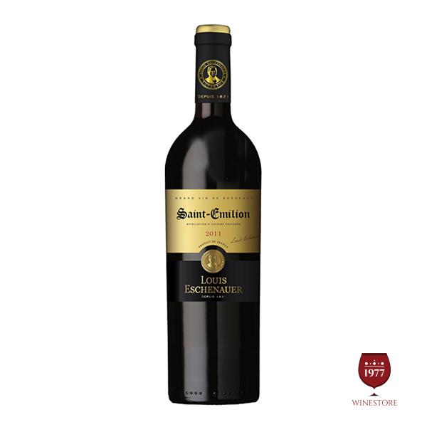 Rượu Vang Luis Eschenauer Saint Emilion AOC – Vang Pháp Nhập Khẩu