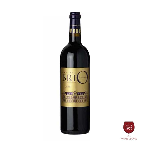 Rượu Vang Margaux Brio De Cantenac Brown – Vang Pháp Cao Cấp