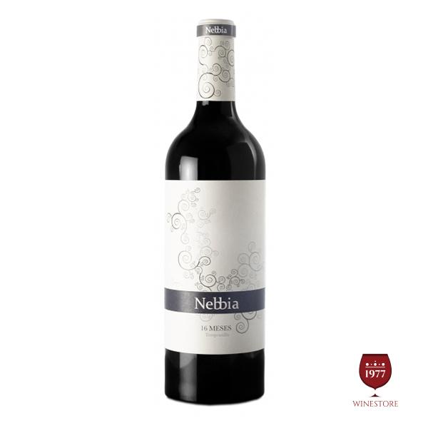 Rượu Vang Nebbia 16 Meses – Vang Tây Ban Nha Chính Hãng