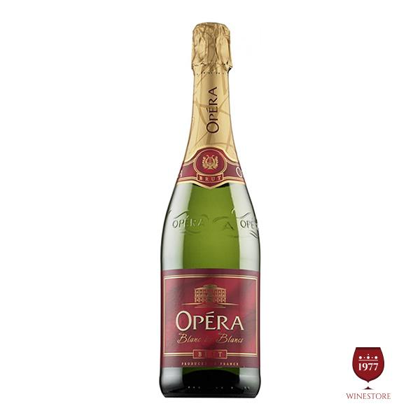 Rượu Vang Nổ Opera Blanc de Blancs Brut – Vang Nổ Pháp Giá Tốt