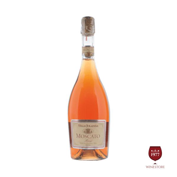 Rượu Vang Nổ Villa Jolanda Moscato Rose – Vang Nổ Ý Nhập Khẩu