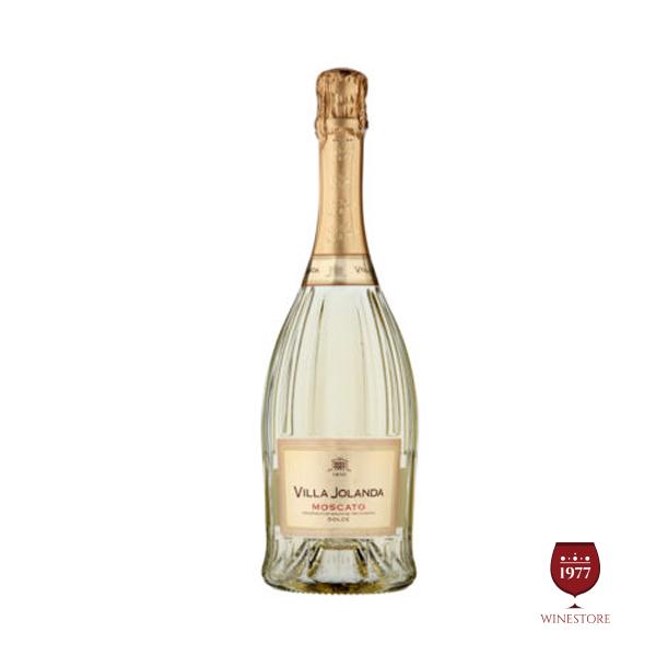 Rượu Vang Nổ Villa Jolanda Moscato White – Vang Nổ Ý Nhập Khẩu