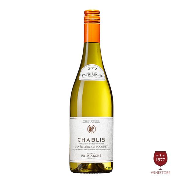 Rượu Vang Patriarche – Chablis– Vang Pháp Nhập Khẩu Chính Hãng