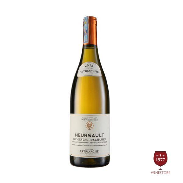 Rượu Vang Patriarche – Meursault Charmes – Vang Pháp Thượng Hạng