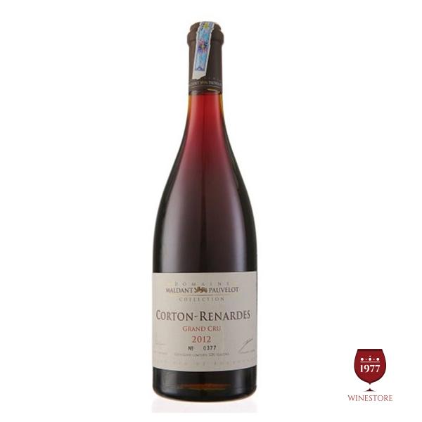 Rượu Vang Pháp Domaine Maldant Pauvelot Corton Renardes 2012