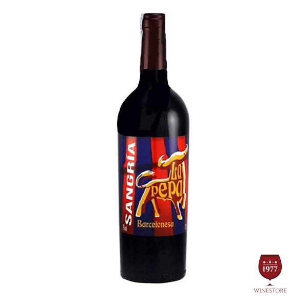 Rượu Vang Sangria Barcelones La Pepa – Vang Tây Ban Nha Nhập Khẩu