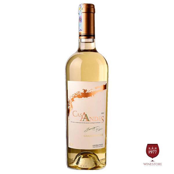 Rượu Vang CasAndesReserve Sauvignon Blanc