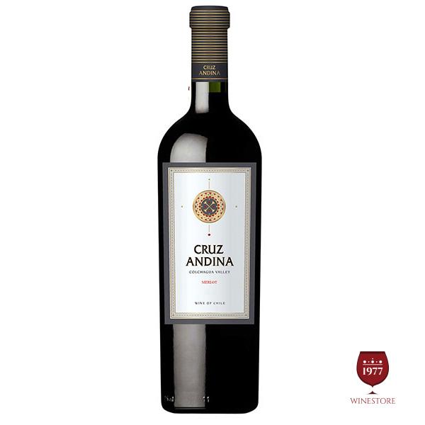Rượu Vang Cruz Andina Merlot – Vang Chile Nhập Khẩu Chính Hãng