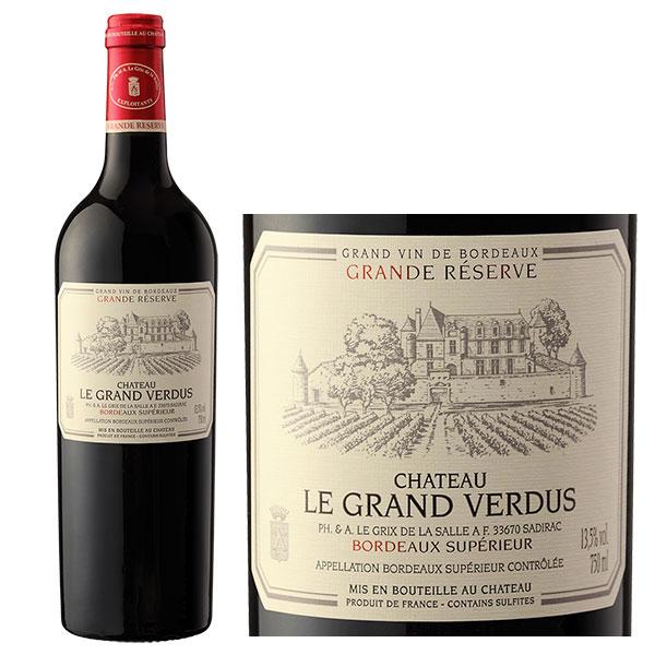 Rượu vang Chateau Le Grand Verdus Grande Reserve