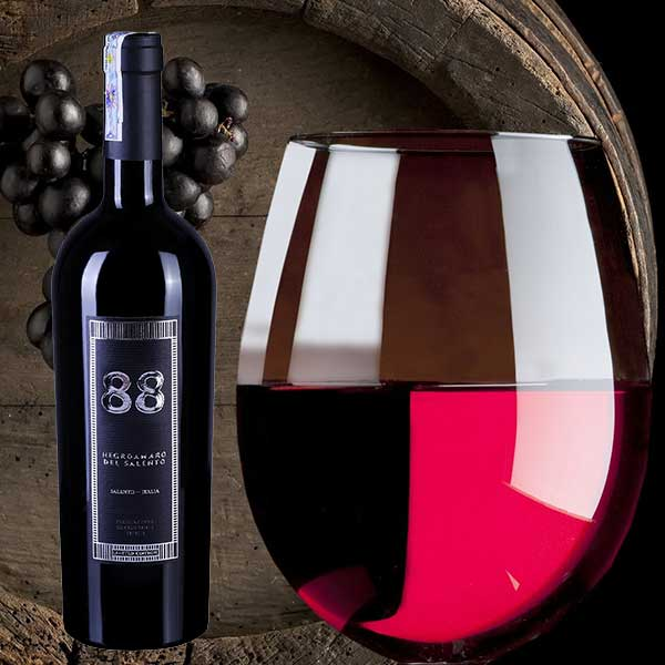 Rượu Vang 88 Negroamaro Salento