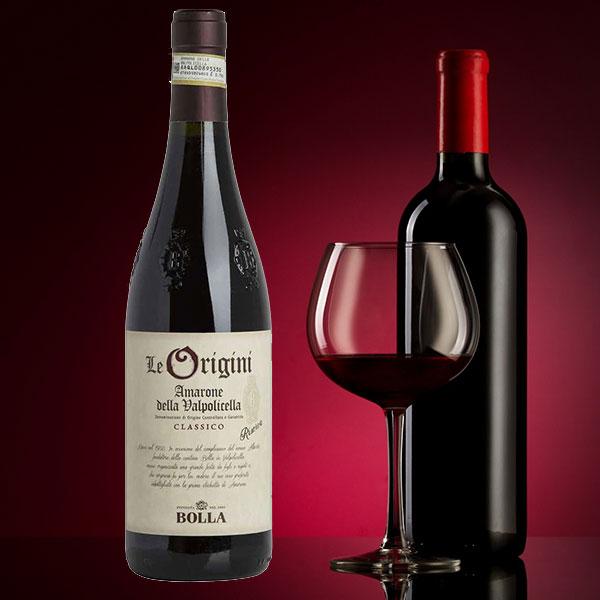 Rượu Vang Bolla Le Origini Amarone Reserva