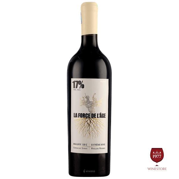 Rượu Vang La Force De L'age – Rượu Vang Pháp 17 độ