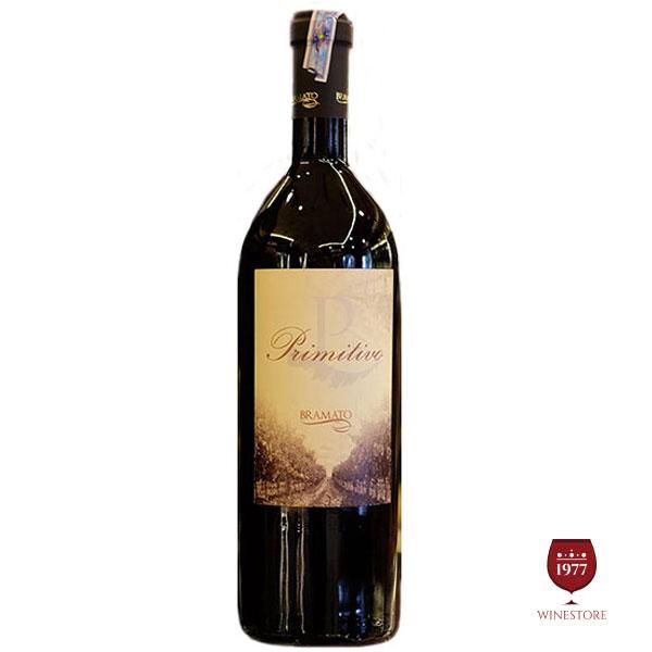 Rượu Vang P Primitivo Bramato – Rượu Vang 18 Độ