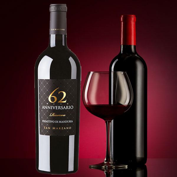 Rượu vang 62 Anniversario Primitivo di Manduria