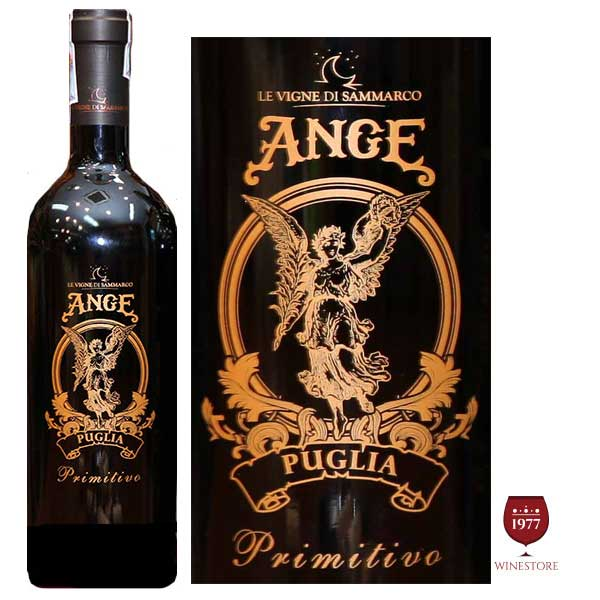 Rượu vang Ange Puglia Primitivo