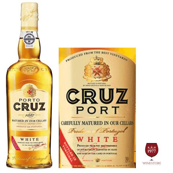 Rượu vang Porto Cruz White