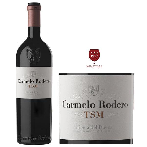 Rượu Vang Carmelo Rodero TSM