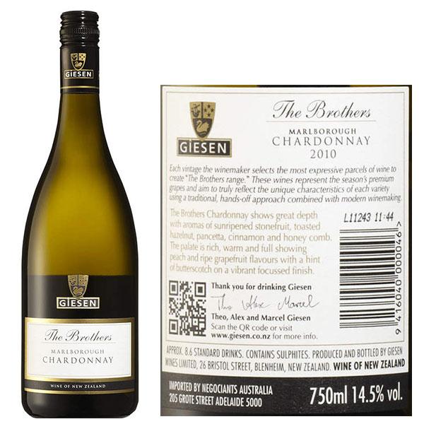 Rượu Vang Giesen The Brothers Sauvignon Blanc