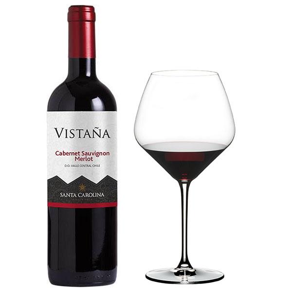 Rượu Vang Santa Carolina Vistana Cabernet Sauvignon – Merlot