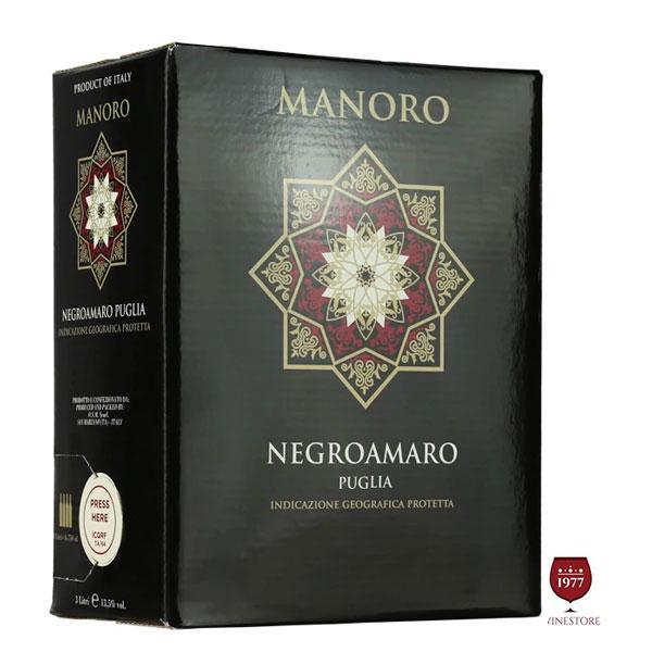 Rượu Vang bịch 3l Manoro – GIÁ SALE