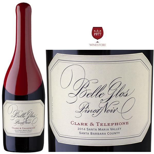Rượu vang Belle Glos Pinot Noir Clark & Telephone