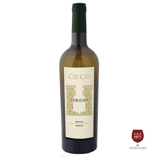 Rượu vang Ciù Ciù Tebaldo – GIÁ TỐT