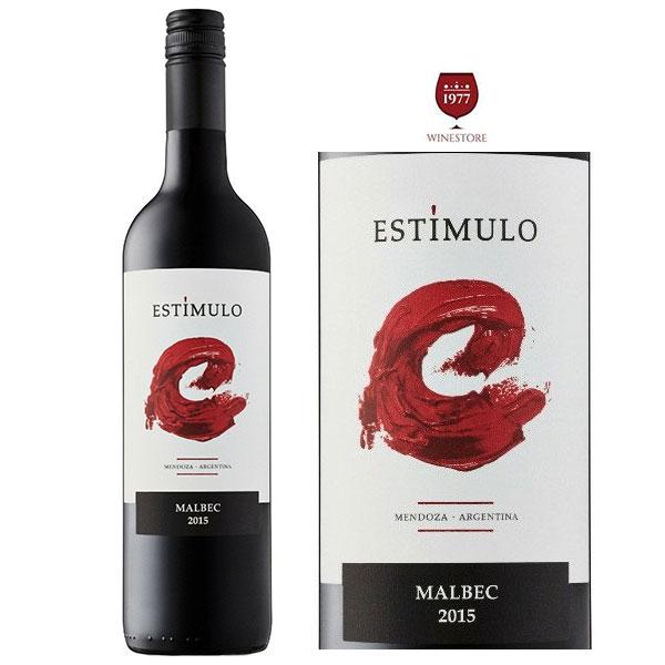 Rượu vang Estimulo Malbec