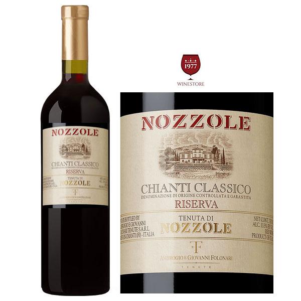 Rượu vang Nozzale