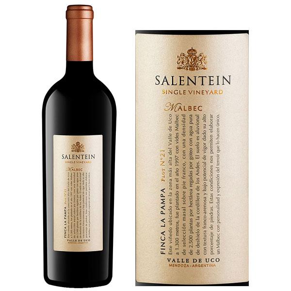 Rượu vang Salentein Single Vineyard Malbec