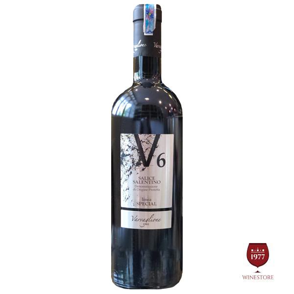 Rượu Vang Ý V6 Salice Salentino– GIÁ RẺ NHẤT