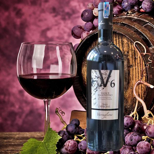 Rượu Vang Ý V6 Salice Salentino