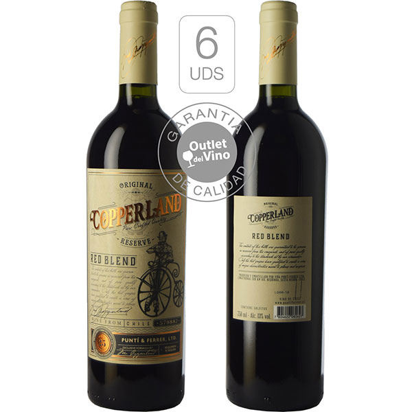 Rượu vang Copperland Reserva Red Blend
