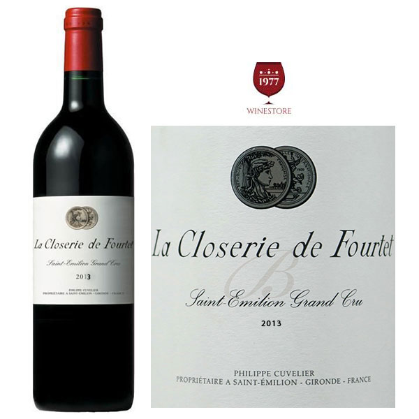 Rượu Vang La Closerie De Fourtet 2013