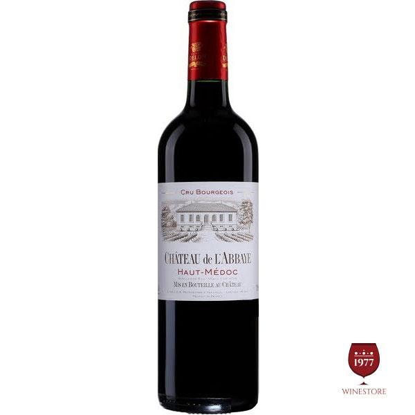 Rượu Vang Pháp Château De L'abbaye Haut-Médoc