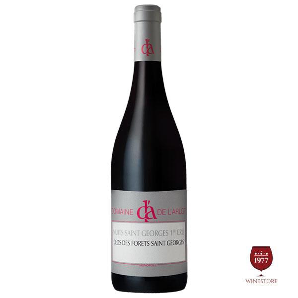 Rượu Vang Pháp Domaine De L'Arlot Clos Des Forets Saint Georges