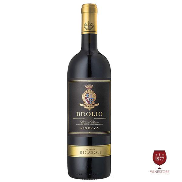 Rượu Vang Ý Barone Ricasoli Brolio