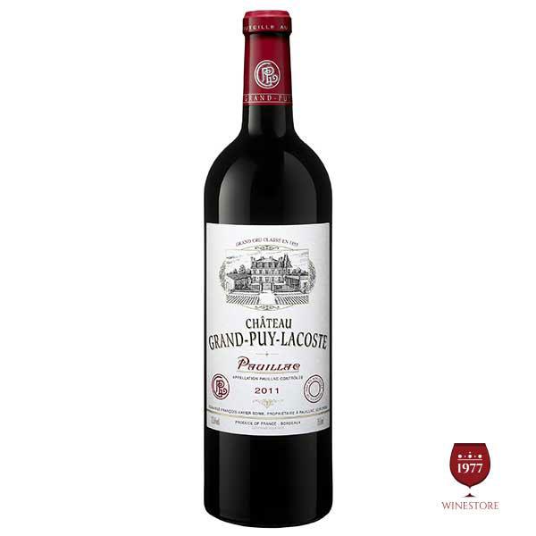Rượu Vang Pháp Chateau Grand Puy Lacoste