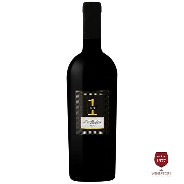 Rượu Vang Ý Uno 1 Primitivo Di Manduria
