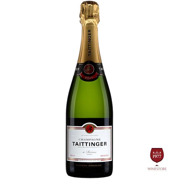 RượuChampagne Taittinger Brut Reserve