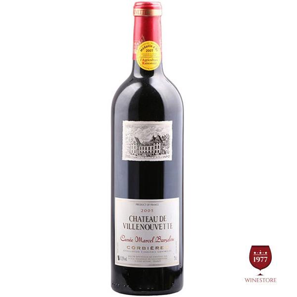 Rượu Vang Pháp Chateau De Villenouvette Corbieres